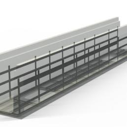 WEAV3D Nonmetallic Alternative to Steel Rebar