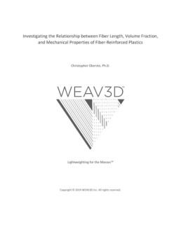 WEAV3D Fiber Length Scale Effects White Paper